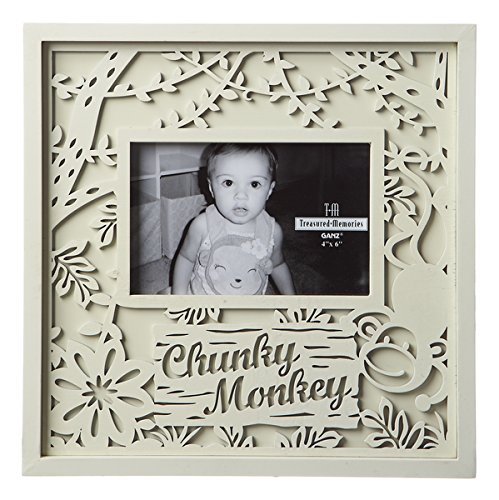- Chunky Monkey Baby 4 x 6 Laser Cut Easel Back Picture Frame