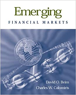 Book Emerging Financial Markets (McGraw-Hill Series in Mass Communication)