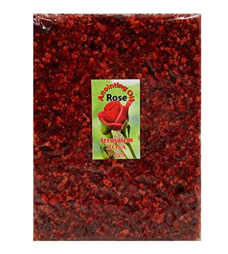 (Talisman4U Rose RESIN INCENSE Aromatic Jerusalem Holy Land Frankincense 3.5 oz / 100 g)