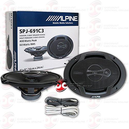 Brand New Alpine 6x9-inch 6x9' 3-way Car Audio...
