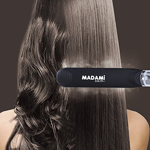 Steam Hair Straightener For Argan Oil Infusion Treatment