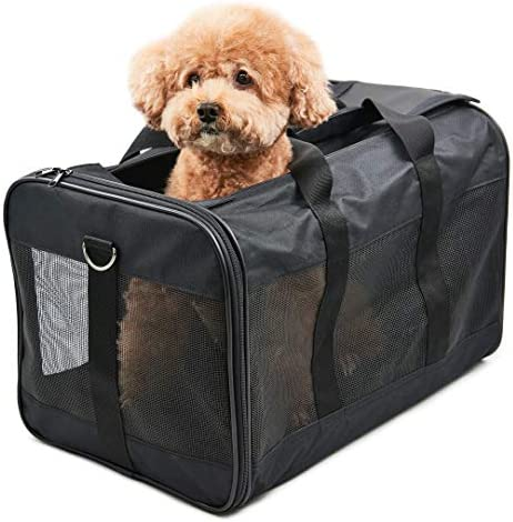 Hitchy Transportin Gato/Transportin Perro Pequeño Mascotas Cómodo Bolso para Transporte en Tren, Coche y Avión. (L): Amazon.es: Productos para mascotas