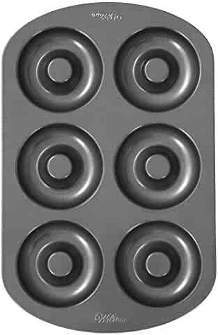 Wilton Donut Pan, 6-Cavity Donut Baking Pan
