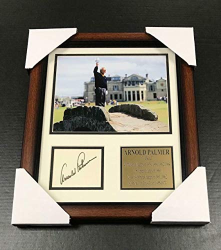 Autographed Arnold Palmer Photograph - The King Cut Reprint Facsimile 8x10 - Autographed Golf Photos - Photo Signed Arnold Palmer