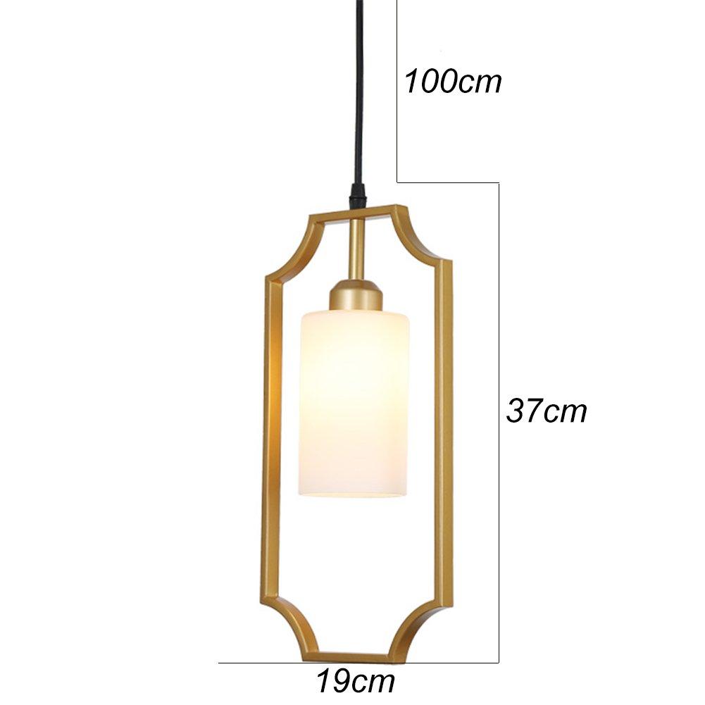 Amazon.com: OOFAY dorado diseño geométrico lámpara de techo ...