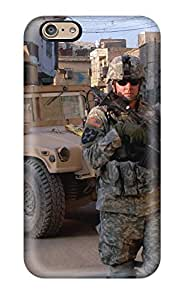 Hot 6777337K11020951 Protection Case For Iphone 6 / Case Cover For Iphone(warzone Soldiers)
