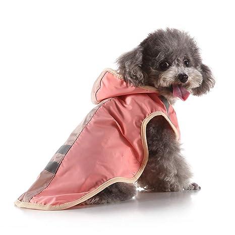 dingsheng Ropa para mascotasChubasquero para Perros Grandes ...
