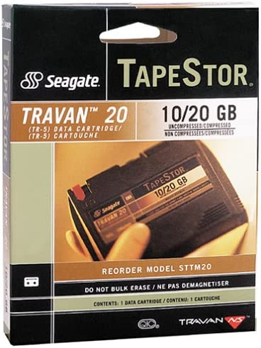 B00004Z820 Seagate 10/20GB 740FT Data Cartridges for Travan Tr5 Ns20 Drives (3-Pack) 51CYEYY84WL.