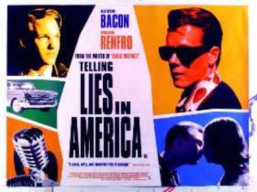 Telling Lies In America Brad Renfro Kevin Bacon Poster (Best Bacon In America)