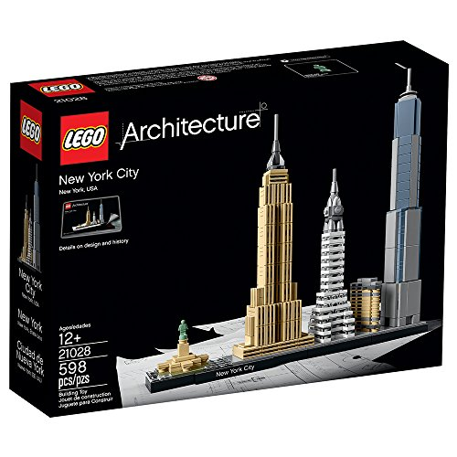 51CYEoW7gGL - LEGO Architecture New York City 21028, Skyline Collection, Building Blocks