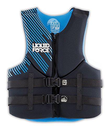 当季大流行 Liquid B00QITPMM8 ForceヒンジクラシックメンズCGA – Lifeジャケット – ブラック/ブルー Medium B00QITPMM8, アウトドアーズコンパス:aaf3ac0a --- a0267596.xsph.ru