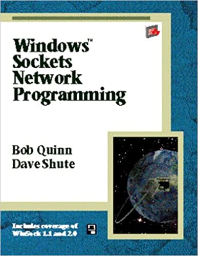 Windows Sockets Network Programming (paperback): Bob Quinn