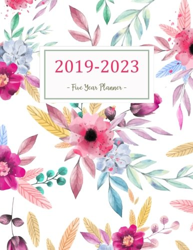 2019-2023 Five Year Planner: Monthly Schedule Organizer - Agenda Planner For The Next Five Years, 60 Months Calendar, Appointment Notebook, Monthly ... Cover (2019-2020 calendar planner) (Volume - Appointment Monthly Calendar