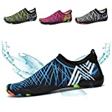 Cheap Ceyue Mens Womens Athletic Water Shoes Lightweight Quick Dry Aqua Socks Swim Shoes Water Aerobics for Beach Surfing Swim Yoga Exercise Shoes for Unisex (Blue 38)
