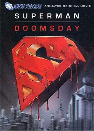 Image result for superman doomsday movie poster