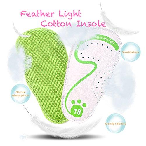 cartoonimals Babyschuhe Mädchen Jungen Neugeborene Weiche Rutschsicheren Baby Kinder Schuhe Ladybug Green