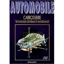 Automobile carrosserie - technologie générale