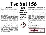 6 gallon parts washer - Technichem Corporation TEC SOL 156 Parts Washer Solvent (1-6 Gallon Pail)
