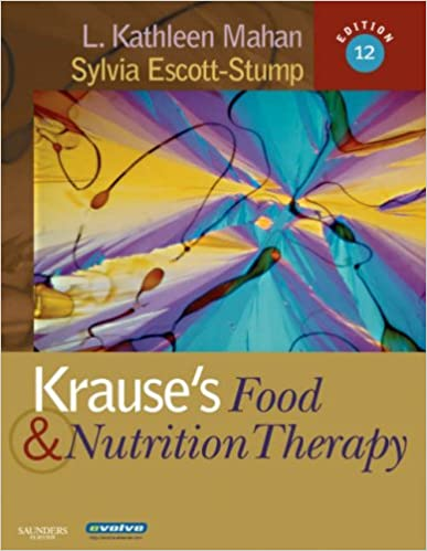 krauses food nutrition therapy 12th edition free download