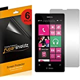 SUPERSHIELDZ- High Definition (HD) Clear Screen Protector Shield For Nokia Lumia 521 (T-Mobile) + Lifetime Replacements Warranty - Retail Packaging