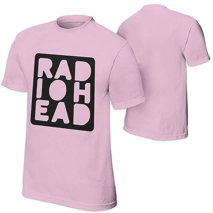 36c75f27ca09 Amazon.com: Carol W. Z J Radiohead Mens Fashion Short Sleeve Shirt ...