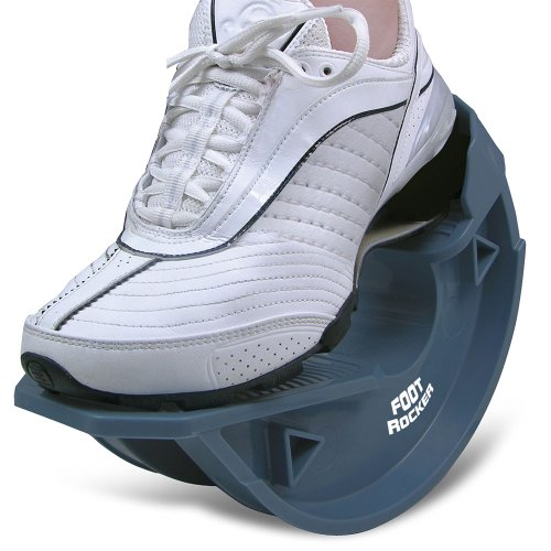 North American Healthcare Foot Rocker Blue -Optimal Foot Position for Flexibility, Plantar Fasciitis, Achilles tendonitis, and other Chronic (Pro Stretch)