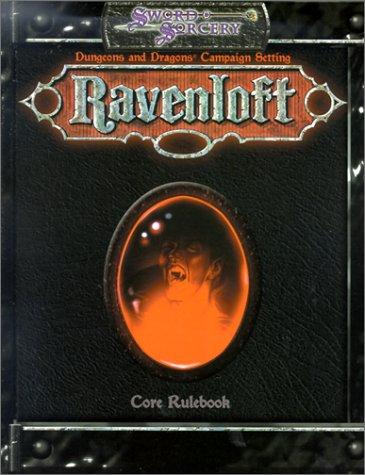 Ravenloft  Ravenloft  Campaign Setting  Rulebook