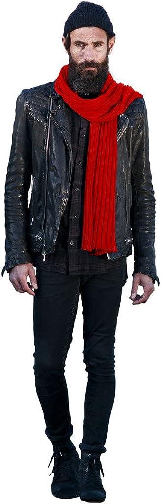 Hart Foulard Homme Rouge marine en Coton C/ôtel/é Imprim/é