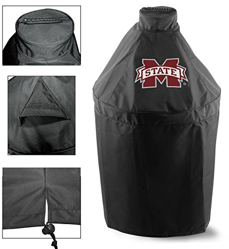 Holland Covers GC-K-MssStU Officially Licensed Mississippi State University Kamado Style Grill Cover ()