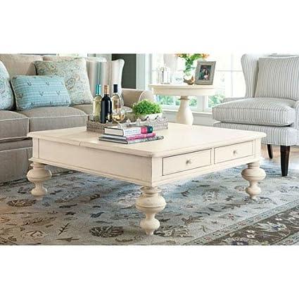 Paula Deen Home Put Your Feet Up Table, Linen