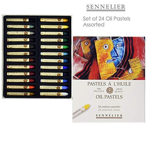 Sennelier Oil Pastel Assorted Set of 24