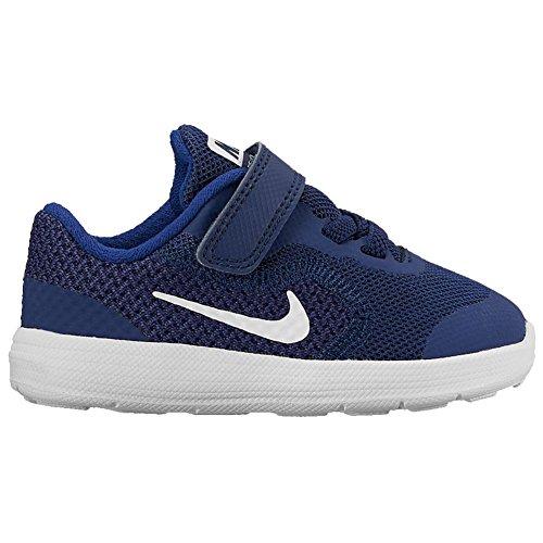 Nike Revolution 3 (TDV) 819415 406 Jungen Lauflernstiefel Kaltfutter Blau (Blau)