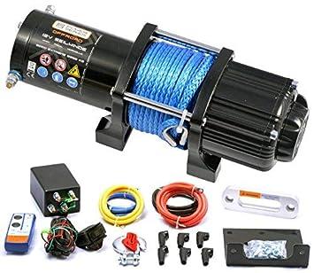 Universal Funk Fernbedienung Elektrische Seilwinde 12V OFFROAD JEEP ATV QUAD