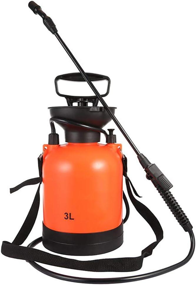 Tolyneil Pulverizador a presión 3L, Bomba de césped y jardín Pulverizador a presión con Correa para el Hombro para herbicidas, pesticidas, Fertilizantes, soluciones de Limpieza Suave y lejía