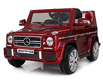 Mercedes-Benz Licensed G65 12V Kids Electric Ride On Car Four Wheels ...