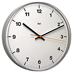 Bai Lucite Wall Clock, Accuron White