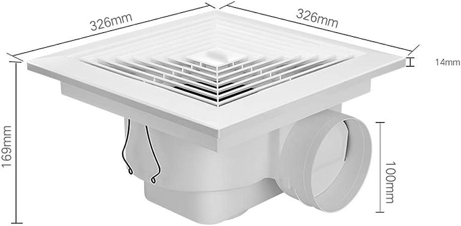 Exhaust Fan Zhaoshunli 830 - Ventilador de Techo para baño (30,5 ...