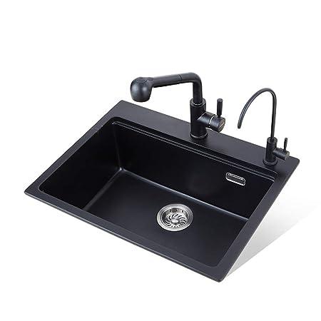 Xing Hua home Küchenspüle Küchenspüle Reversible Spüle Küche Granit ...