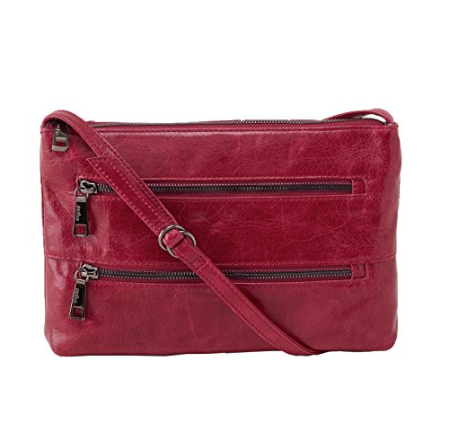 hobo-womens-leather-vintage-mara-crossbody-bag-red-plum
