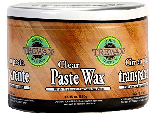Trewax, Clear, Paste Wax, 12.35-Ounce, 1-Pack
