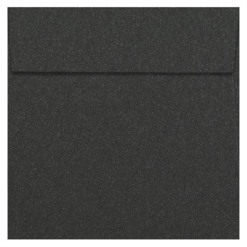 6 1/2 Square Stardream Onyx Envelopes - Square Flap, 81T, 25 Pack