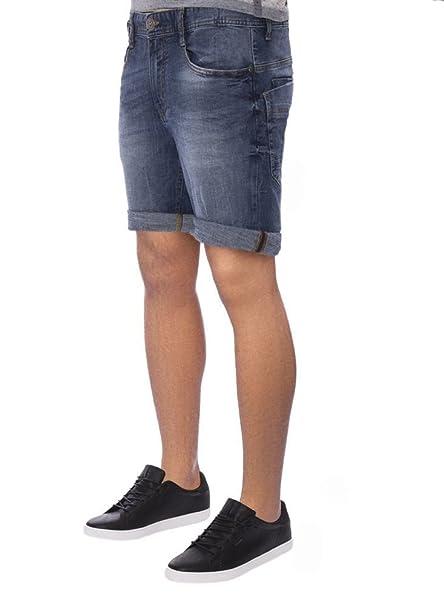 M.O.D Herren Denim Jeans Shorts Joshua Blau Kurze Hose Bermuda MOD buffallo  Blue Vintage Look Dehnbar Stretch Sweat Pants  Amazon.de  Bekleidung 44b7f99cbc