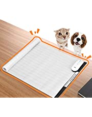 Pet Training Mat, DOGCARE Pet Shock Mat for Dogs & Cats with 3 Training Mode, 3 Shock Level, Safety, Low Voltage Battery for Pet Training, Keep Dog for Couch Doorways Furniture, 30x16 Inches