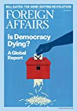 Since its founding in 1922, Foreign Affairs has been the leading forum for serious discussion of international affairs. Experts from across the political spectrum offer timely and incisive analysis on the most crucial issues affecting foreign policy ...