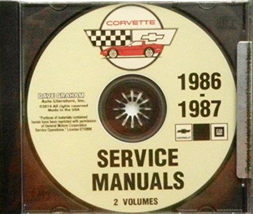 corvette factory service manual - 5