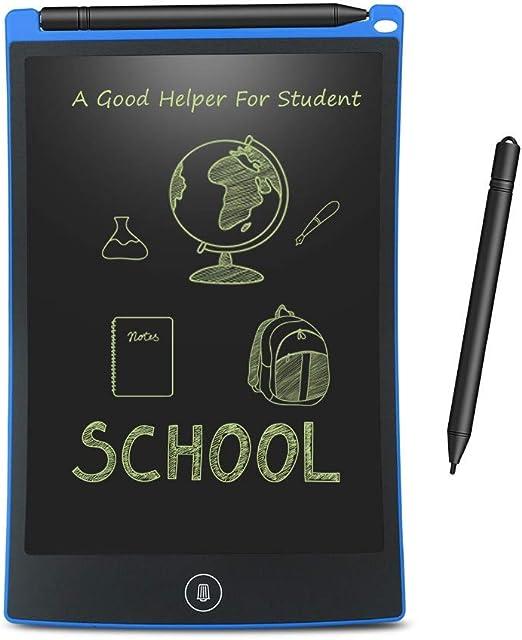 8.5インチLCDライティングタブレットデジタルドローイングタブレット手書きパッドポータブル電子タブレットボード超薄型ボード,ブルー