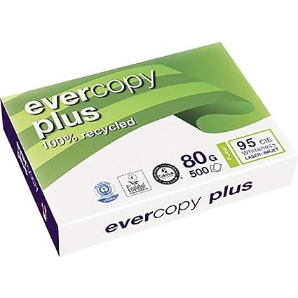 Clairefontaine Evercopy+ CIE95: paquete de 500 hojas A4, 80 ...