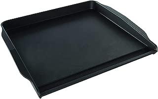 """product image for Nordic Ware Stovetop Backsplash Griddle, 14"""" x 12"""", Black"""