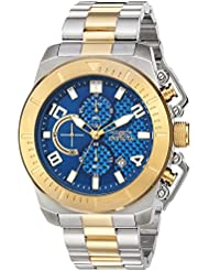 Invicta Mens Pro Diver Quartz Stainless Steel Casual Watch, Color:Two Tone (Model: 23407)