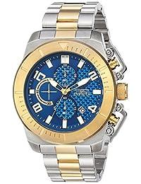 Invicta Men's 'Pro Diver' Quartz Stainless Steel Casual Watch, Color: Two Tone (Model: 23407)